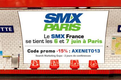 SMX France 2013 – code réduction > Blog AxeNet | Veille techno internet | Scoop.it