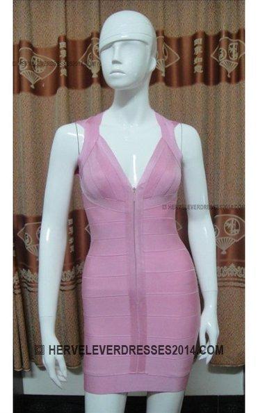 Herve Leger Deep V-Neck Front Zip Bandage Dress Pink [ Front Zip Pink Bandage Dress Herve Leger] - $156.00 : Cheap Herve Leger Dresses 2014 with Discount Price   herve leger dresses   Scoop.it