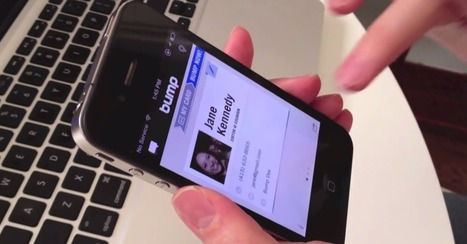 Google Buys Bump, Maker of Contact Info Exchange App | Technology & Business | Scoop.it