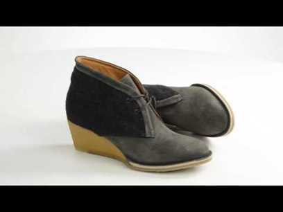 Lisa B. and Co. Wedge Ankle Boots - Sued || Consumer Mania Rocks! | Nothing But News | Scoop.it