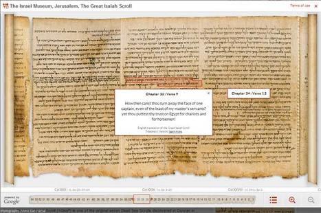 Les manuscrits de la mer morte accessibles en numérique | Bibliothèques numériques | Scoop.it