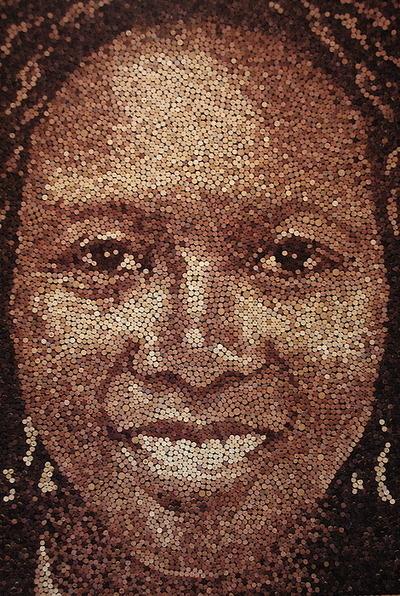 Art : des portraits en bouchons de liège ! | NEOPLANETE | L'Etablisienne, un atelier pour créer, fabriquer, rénover, personnaliser... | Scoop.it