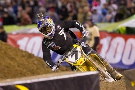 Yoshimura Suzuki's James Stewart Optimistic Despite Bad Luck At Oakland Supercross   News   Transworld Motocross   Motocross and dirtbike   Scoop.it