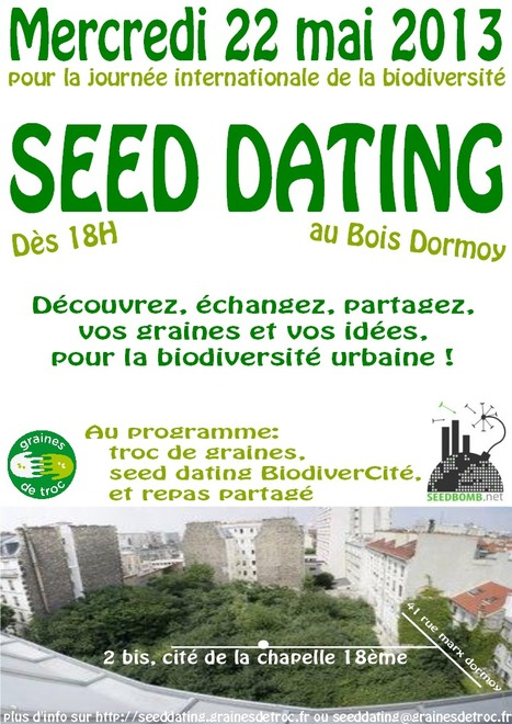 "SEED DATING | Macadam"" Seeds 
