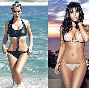 Régime de Kim Kardashian : ses secrets pour perdre du poids | le bon régime | Regime de stars | Scoop.it