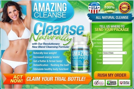 Amazing Cleanse Review – Get Risk Free Trial Here!!!   WHAT YOU THINK ABOUT AMAZING CLEANSE   Scoop.it