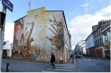 [BREST] Fresques murales rive droite - Participation Brest   partage&collaboratif   Scoop.it
