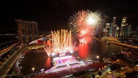 National Day 2014: Singapore celebrates 49th birthday at Marina Bay   Singapore News   Scoop.it