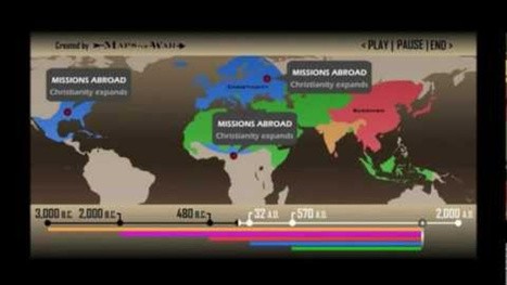 Watch how the major religions have conquered the entire world | Religion | Scoop.it