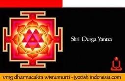 Sri Durga Yantra Card | JYOTISH INDONESIA | Yantra Tantra Mantra | Scoop.it