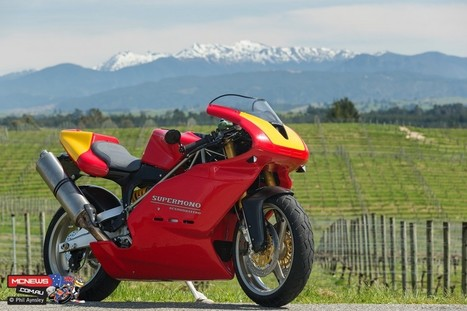 Alistair Wager's Strada | The Supermono Ducati never built | Ductalk Ducati News | Scoop.it