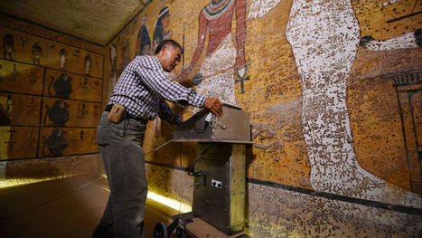 New Scans Made a Surprising Discovery in King Tut's Tomb | #History #Egyptology | 21st Century Innovative Technologies and Developments as also discoveries, curiosity ( insolite)... | Scoop.it