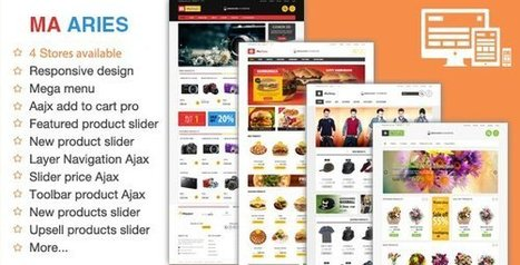 Best Premium Magento Themes - Magento Ecommerce Themes | Technology Bell | Technology Bell | Where Technology Thinks | Scoop.it