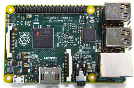Raspberry Pi 2 Model B Features Broadcom BCM2836 Quad Core Processor | Embedded Systems News | Scoop.it