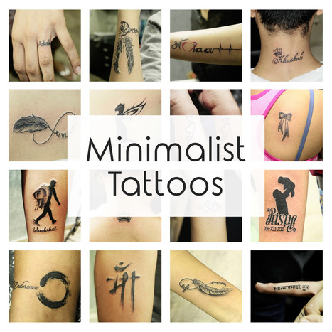 Minimalist Tattoo Ideas & Designs That Prove Subtle Things Can Be   The Most Beautiful   Black Poison Tattoos   Scoop.it