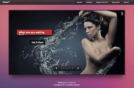 Iview, un caroussel pour vos sites | Outils en ligne pour bibliothécaires | Scoop.it