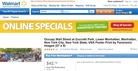 "Occupy Wall Street Photographer ""Had No Idea"" His Image Was For Sale at Walmart 