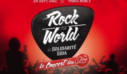 Rock the World fête les 20 ans de Solidarité Sida à Bercy | concertlive.fr | News musique | Scoop.it