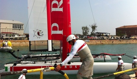America's Cup - Luna Rossa first to sail in Venice | America's Cup-2013_AC34 | Scoop.it