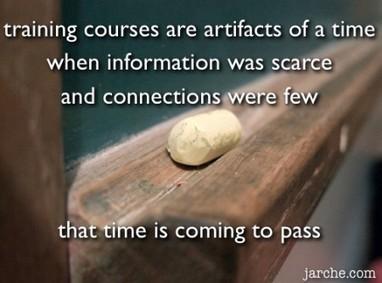 The training world is changing   Harold Jarche   Formación para el trabajo   Scoop.it