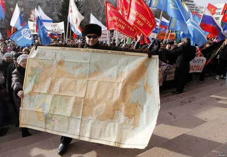 Mapmakers Of The World Not United On Crimea | Archivance - Miscellanées | Scoop.it