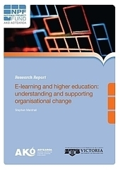 Understanding and Supporting Organisational Change in e-Learning - Ako Aotearoa   eLearning and Blended Learning in Higher Education   Scoop.it