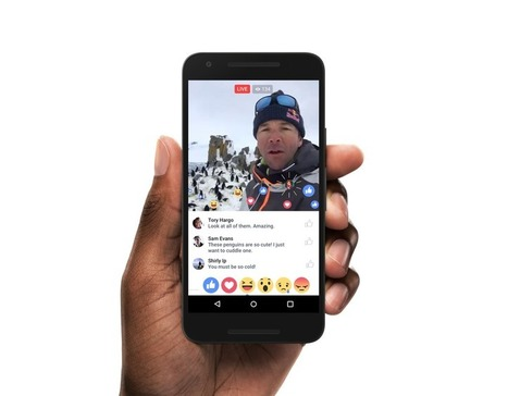 Facebook's Live video graph could help you find the good bits | MARTIN'S.IMMIAFRIKA | Scoop.it
