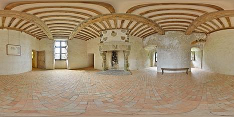 Cheminée du château de Pirou - France par Pascal Moulin Photographe - Panorama 360 x 180° | normandie360panoramic | Scoop.it