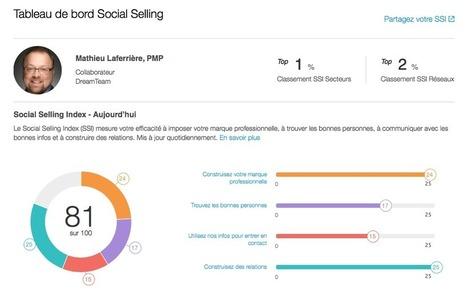 Quel est votre Social Selling Index sur LinkedIn ? | Online Marketing | Scoop.it