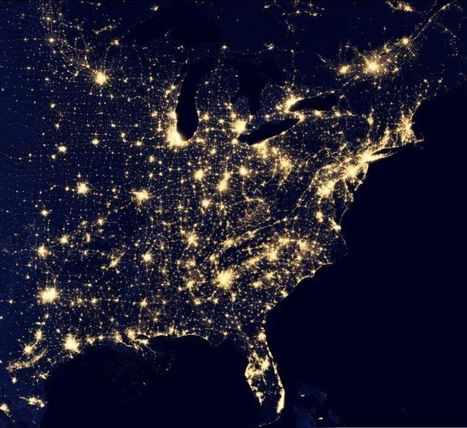 Interactive Earth at Night | Geography Education | AP Human Geography | Scoop.it