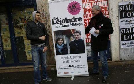 EN IMAGES. Anne Hidalgo en campagne sur la petite ceinture - Le Parisien | Le 18e avec Eric Lejoindre | Scoop.it