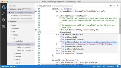 Build 2015 : Microsoft dévoile Visual Studio Code, un EDI gratuit multiplateforme pour Windows, Linux et Mac, la preview disponible en téléchargement | Developers : tools, tips and news | Scoop.it