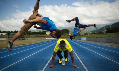 British freerunners take on sprinter Yohan Blake to showcase Jamaica | Sprinticity | Scoop.it