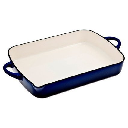 Denby CII-573 Cook N Dine Oblong Dish, Imperial Blue | Best Cookware Tools Review | Scoop.it