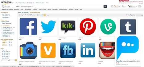 PeeeM featured on Amazon Appstore #uk #london #england   Anonymous Social Messenger   Scoop.it
