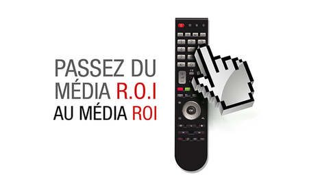 """Du média R.O.I au média ROI, la TV pour les Pure Players"". 