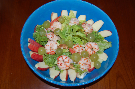 Waldorf Salad and King Prawns   My Home Food That's Amore   Simple Recipes   Scoop.it