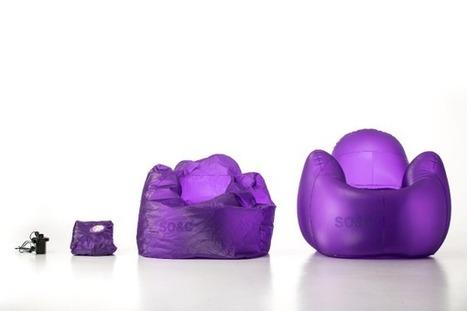 Bonne idée! Des meubles gonflables trendy & casual… | Déco & tendances contemporaines | Scoop.it