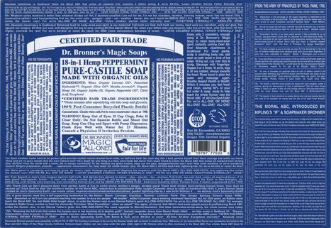 There's Big Business in Niche Brands: Dr. Bronner's Magic Soap .:.   Social Media Marketing   Scoop.it