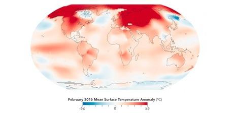 En février 2016, des températures sans précédent | Planete DDurable | Scoop.it