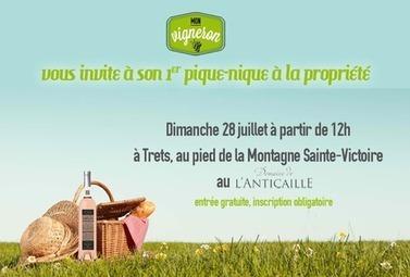Mon Vigneron organise son premier Pique-Nique ! - Magazine du vin - Mon Vigneron | Tourisme viticole en France | Scoop.it