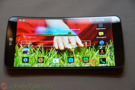 LG G Flex.. Hands-On | Mobile IT | Scoop.it