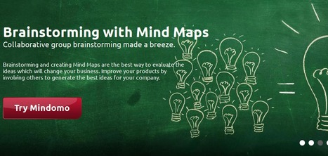 Mindomo - Brainstorming and Mind Mapping Software | 21st C Learning | Scoop.it