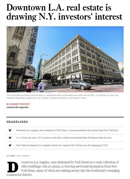 Why a Los Angeles Real Estate Attorney is Vital for Downtown LA Boom   Schwartz Wisot, LLP   Scoop.it