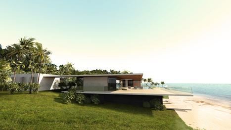 Villa chic et choque près de Miami - CôtéMaison.fr   habitat bois   Scoop.it