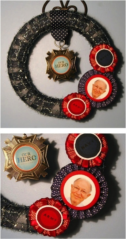 Our Hero Memorial Wreath | Craftspo | Scoop.it