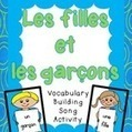 French Vocabulary Activity (song):  fille and garçon - Mlle Cody | French Immersion | Scoop.it