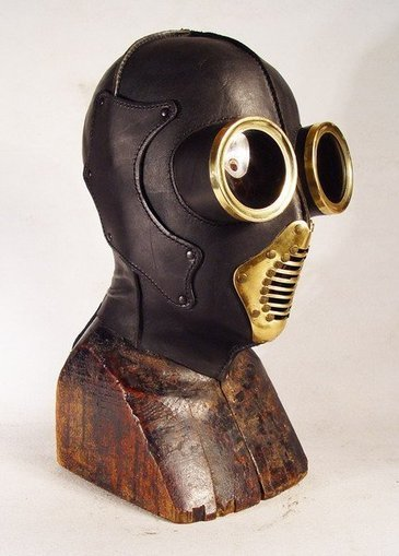 Steampunk Leather Masks | CRAW | Scoop.it