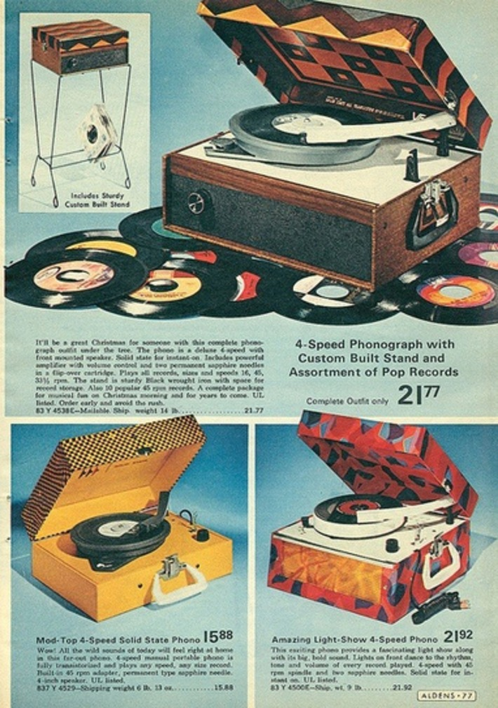 Vintage Catalog Page Of Box Record Players | Antiques & Vintage Collectibles | Scoop.it