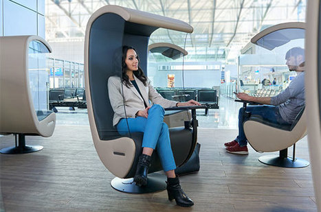 Frankfurt Airport introduces silent chairs and yoga rooms | frequent fliers | Scoop.it